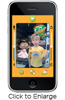 Screenshot - Super Why! inside an iPhone App