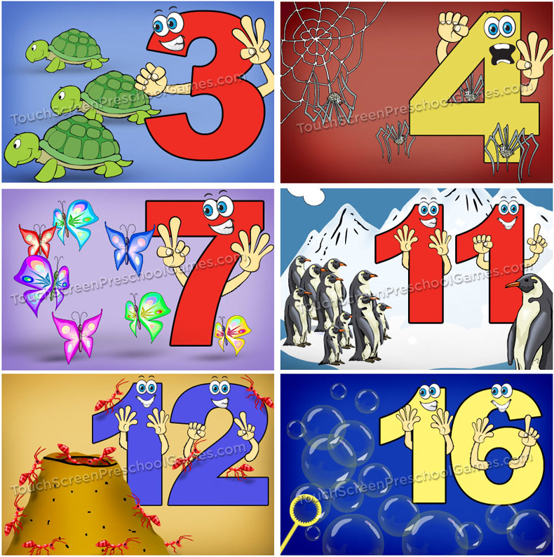 Number Puzzles for Kids - iTouch iPod App