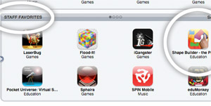 Screenshot - iTunes Apple Staff Favorite iPhone App