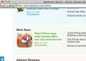 Screenshot - Best Apps List